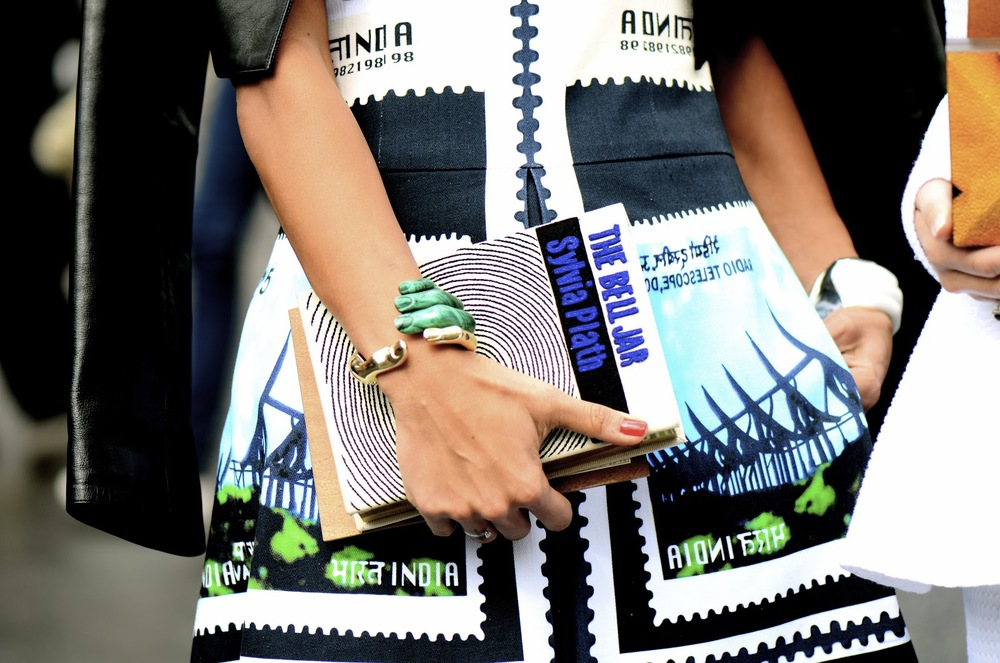 Bell Jar Book Clutch Paris Snappylifestyle