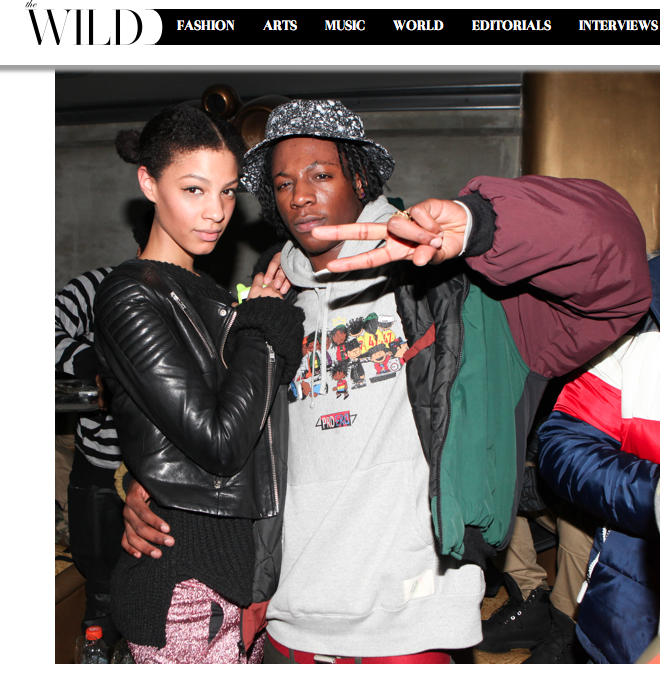 Joey Basa$$ And Claire Leana The Wild Magazine Launch Party Gilded Lilly