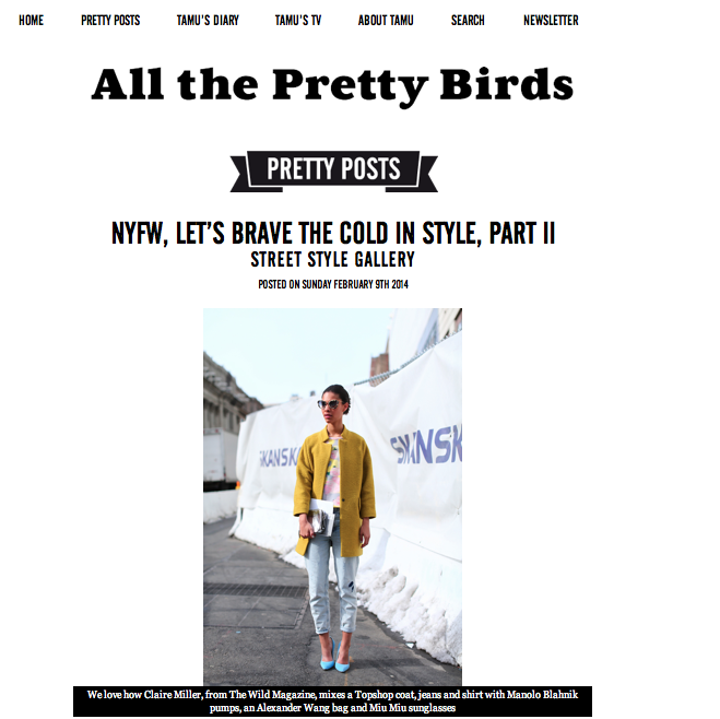 All The Pretty Birds.com