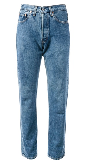LEVIS A.N.G.E.L.O. RECYCLED VINTAGE '501' jean$100.79