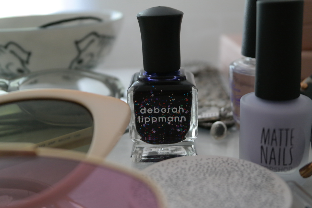 Nails in Lets Go Crazy - deborah lippmann