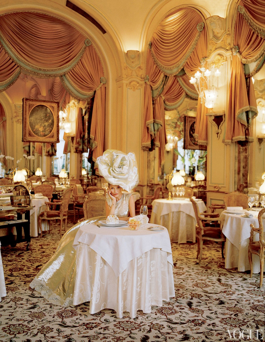 I celebrated my 16th birthday at the Ritz Carlton in Paris, and channeled Kate as always.