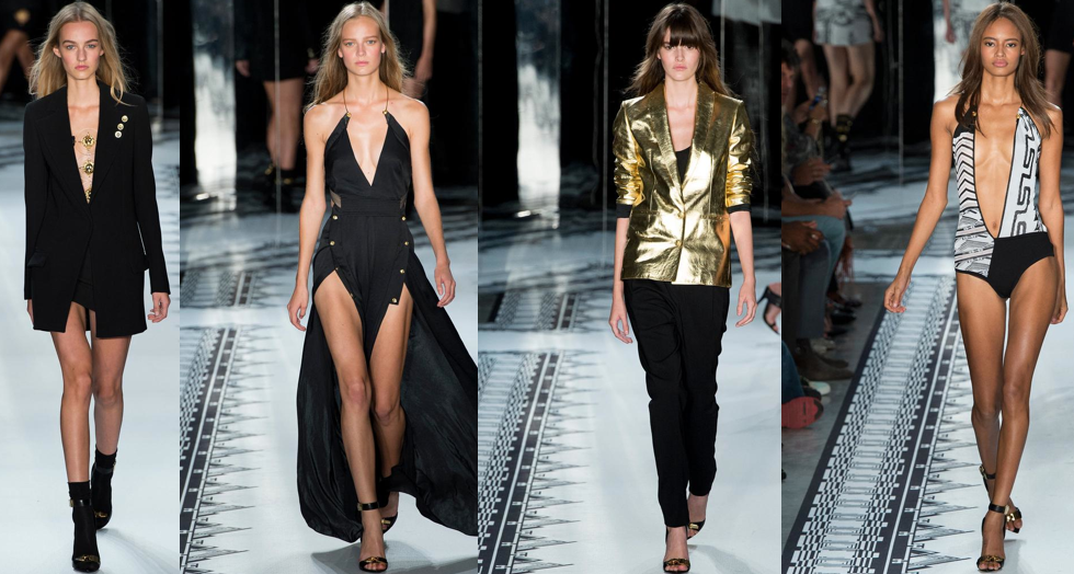 Versus Versace Pics Via. Style.com, (because they are always first in the press pitt!) much love!