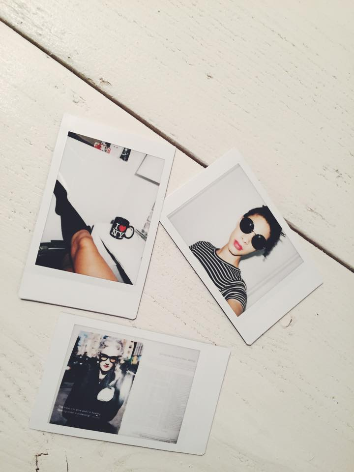 A Sailor Dress, Knee Socks, and The Muse Photo Instax90