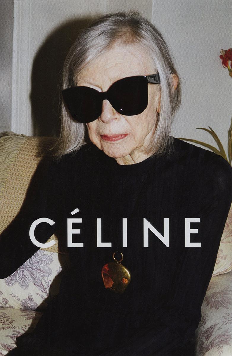 Joan Didion for Celine ss15