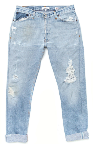 Re\Done Denim Relaxed Straight Jeans