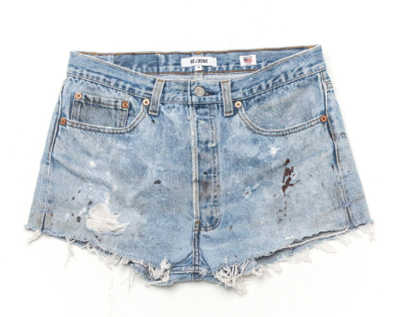 Same Redone Denim Shorts