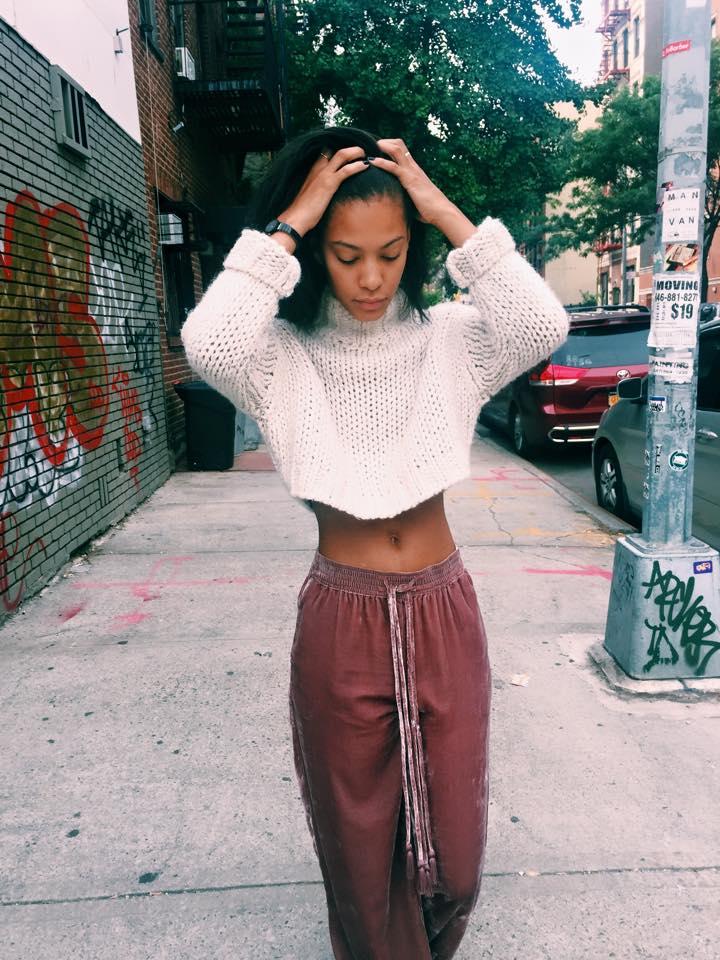 Zara Knit + Pants, Missoni Converse