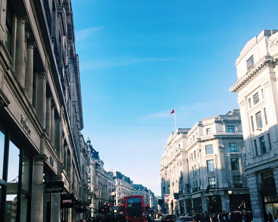 Wandering in Oxford Circus