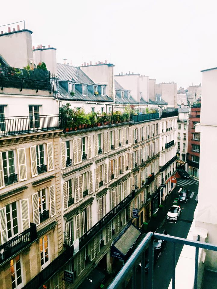 Paris; View from our apartment.