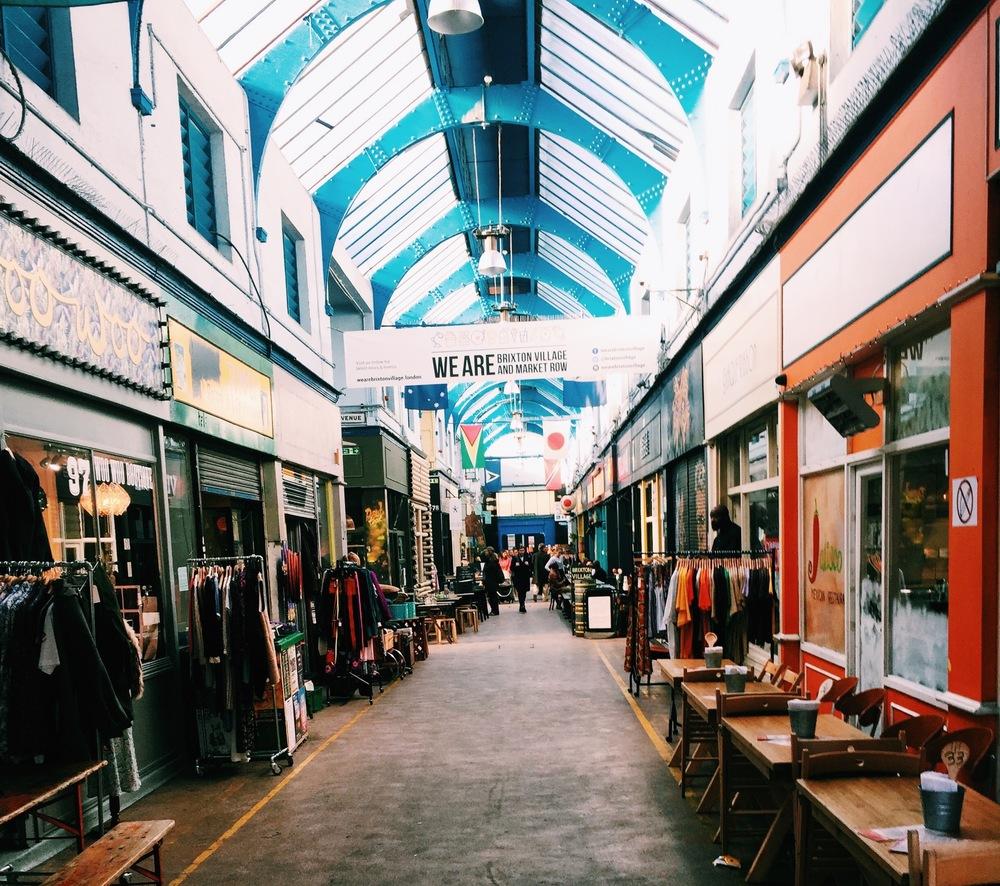 Market in Brixton