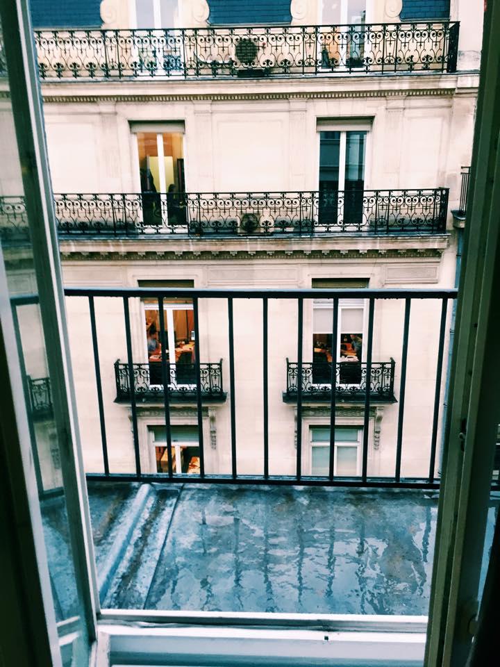 Parisian Balcony PFW ss16