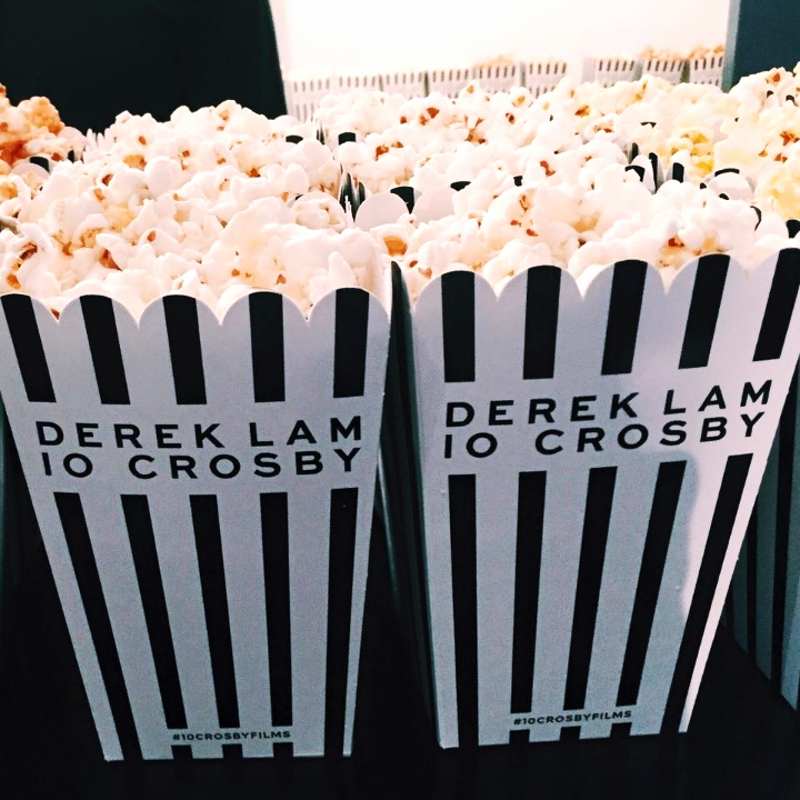 Derek Lam Popcorn at the Fragrance Launch and Film Screening