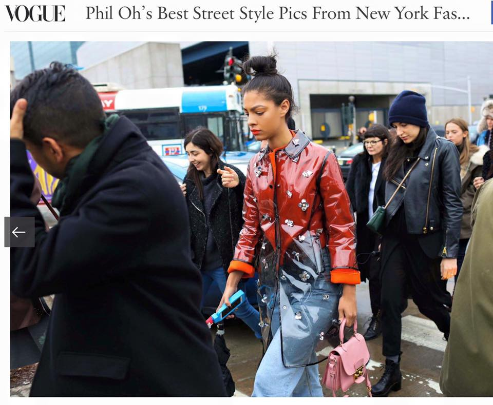Claire Leana Millar Phil Oh's Best Street Style Pics From New York Fashion Week