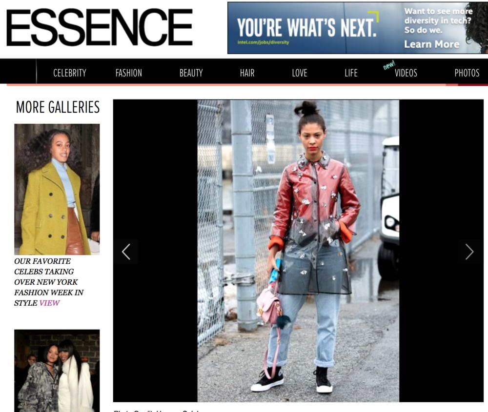 Claire Leana Millar Essence Magazine Street Style NYFW16