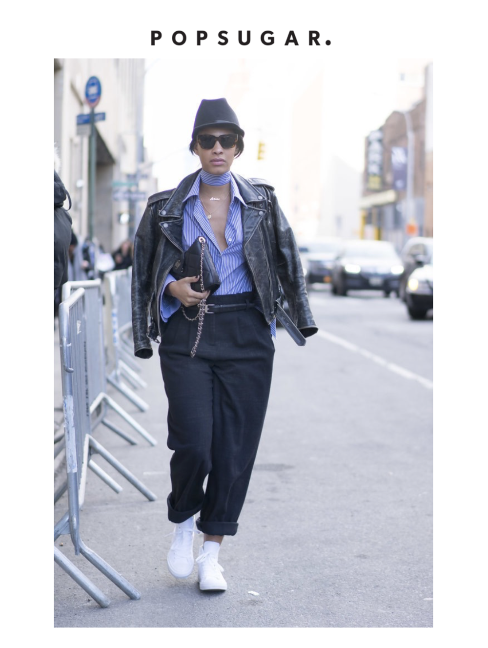 Claire Leana Millar for PopSugar UK NYFW Street Style