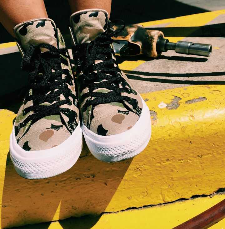 Camo Converse ChuckII from the SXSW Converse Gifting Event