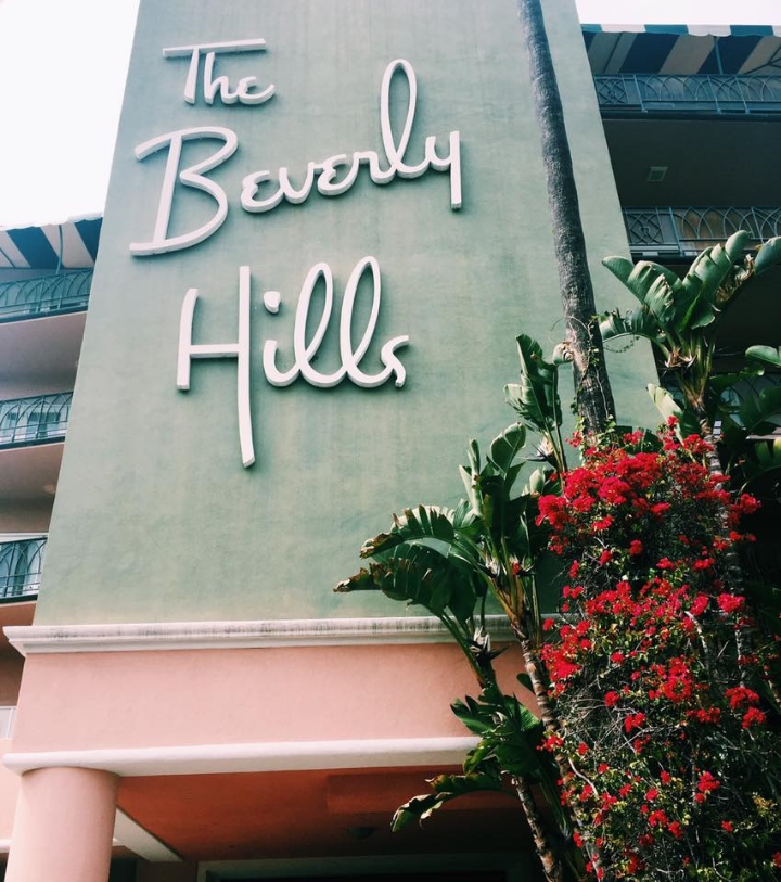 Beverly Hills Hotel Iconic Sign