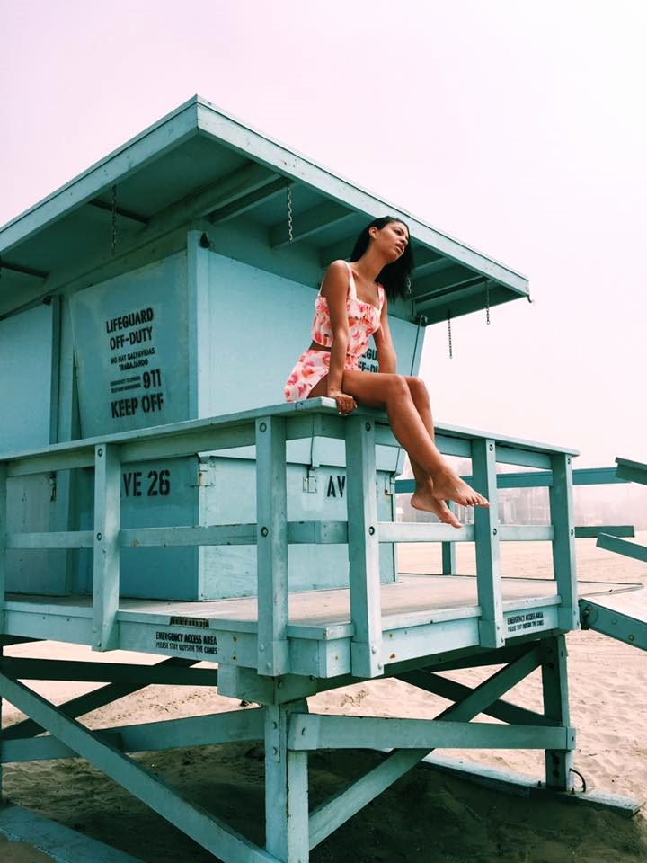 Wildfox Couture Summer16 Claire Leana Millar in Venice Beach