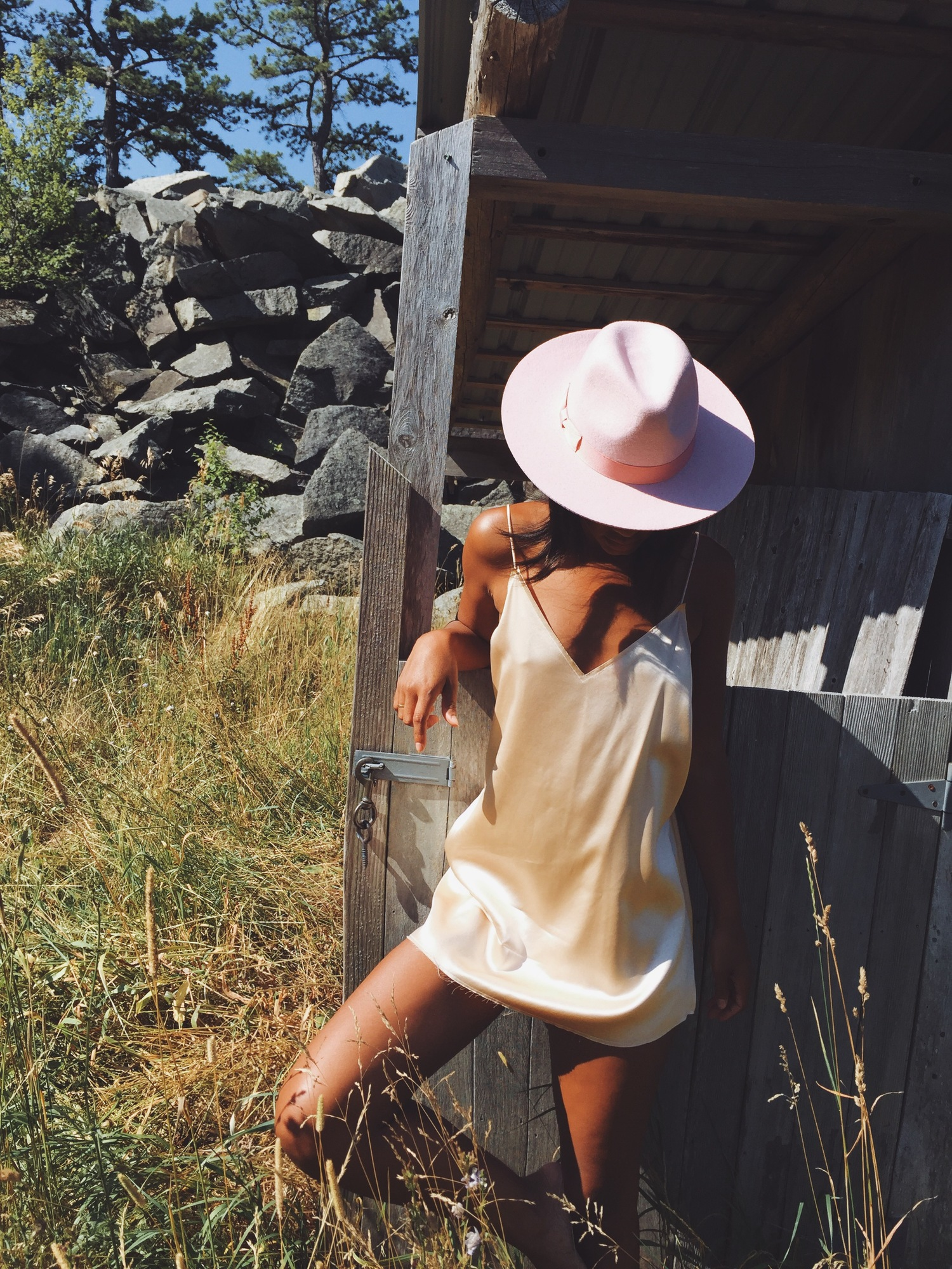 fe9ba8aa32bf6 Slip Dressing Gypsy Farm Feels in Are You Am I — Where I Go  What I Wear