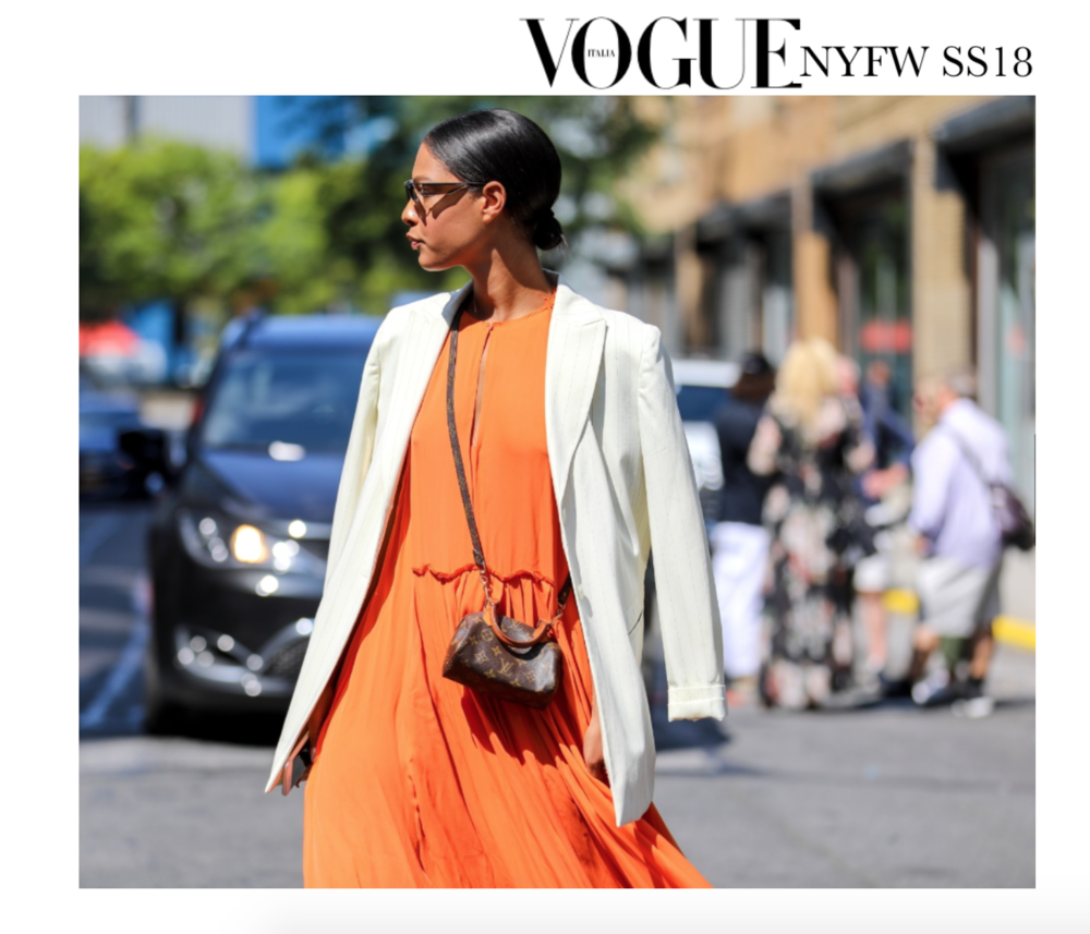 Claire Leana Millar Vogue Italia Street Style NYFW SS18
