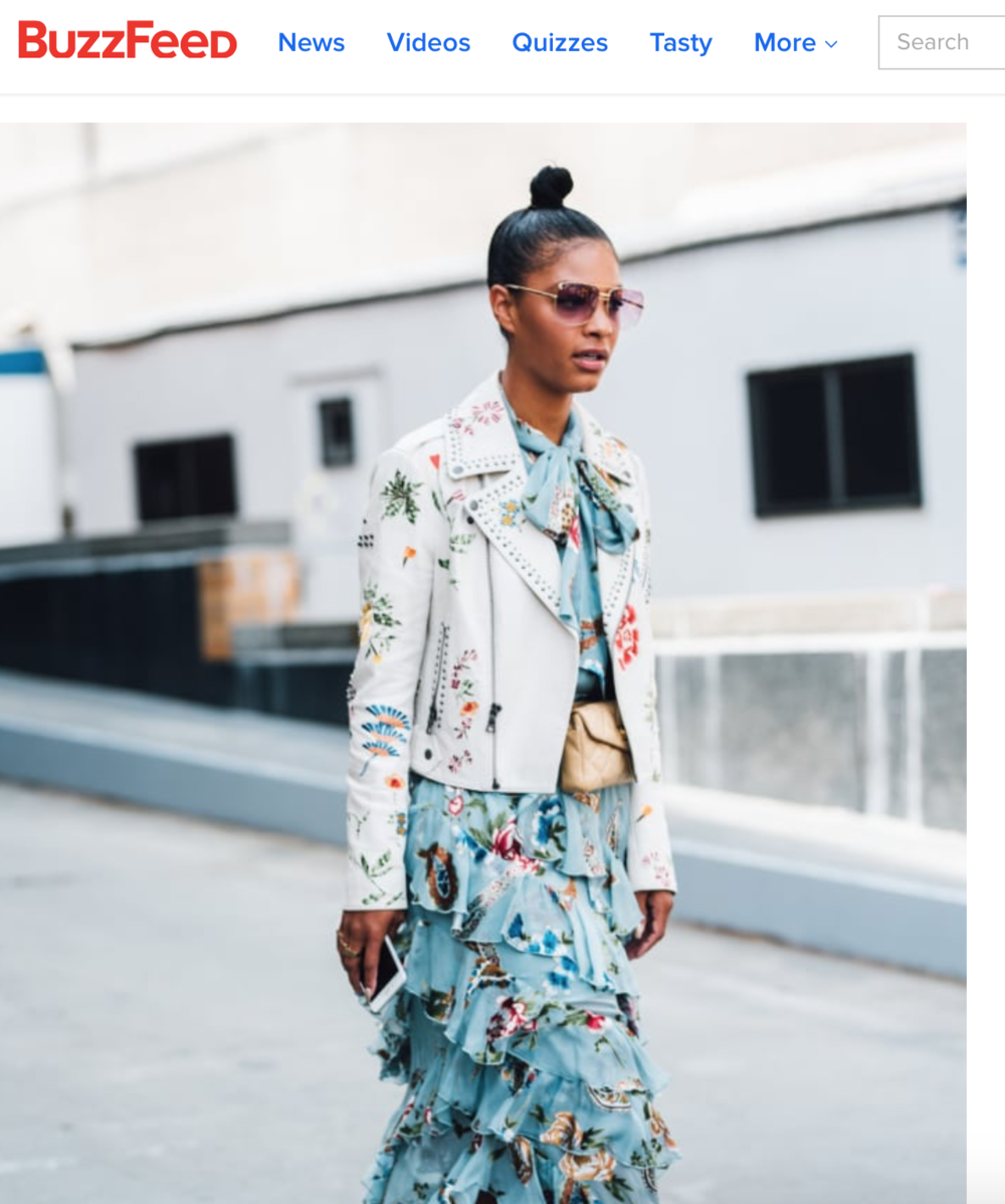 Claire Leana Millar for BuzzFeed's 31  most stylish people of NYFW SS18