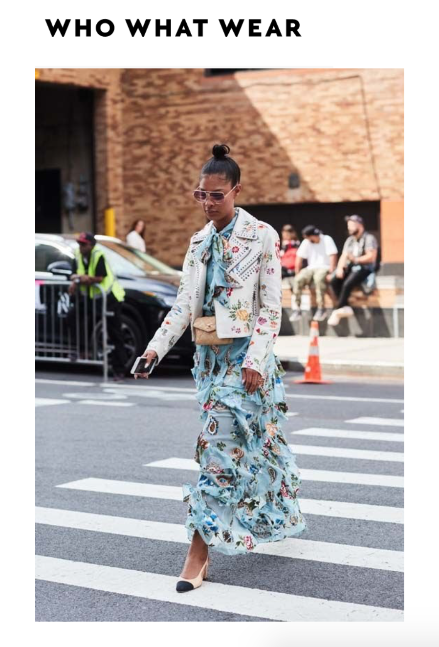 Claire Leana Millar best street style looks of NYFW outside of Alice & Olivia