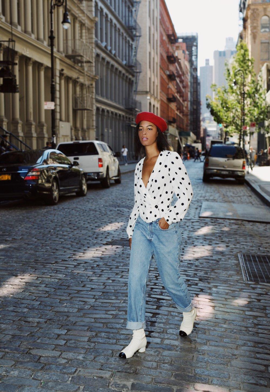 Claire Leana Millar NYFW Street Style looks