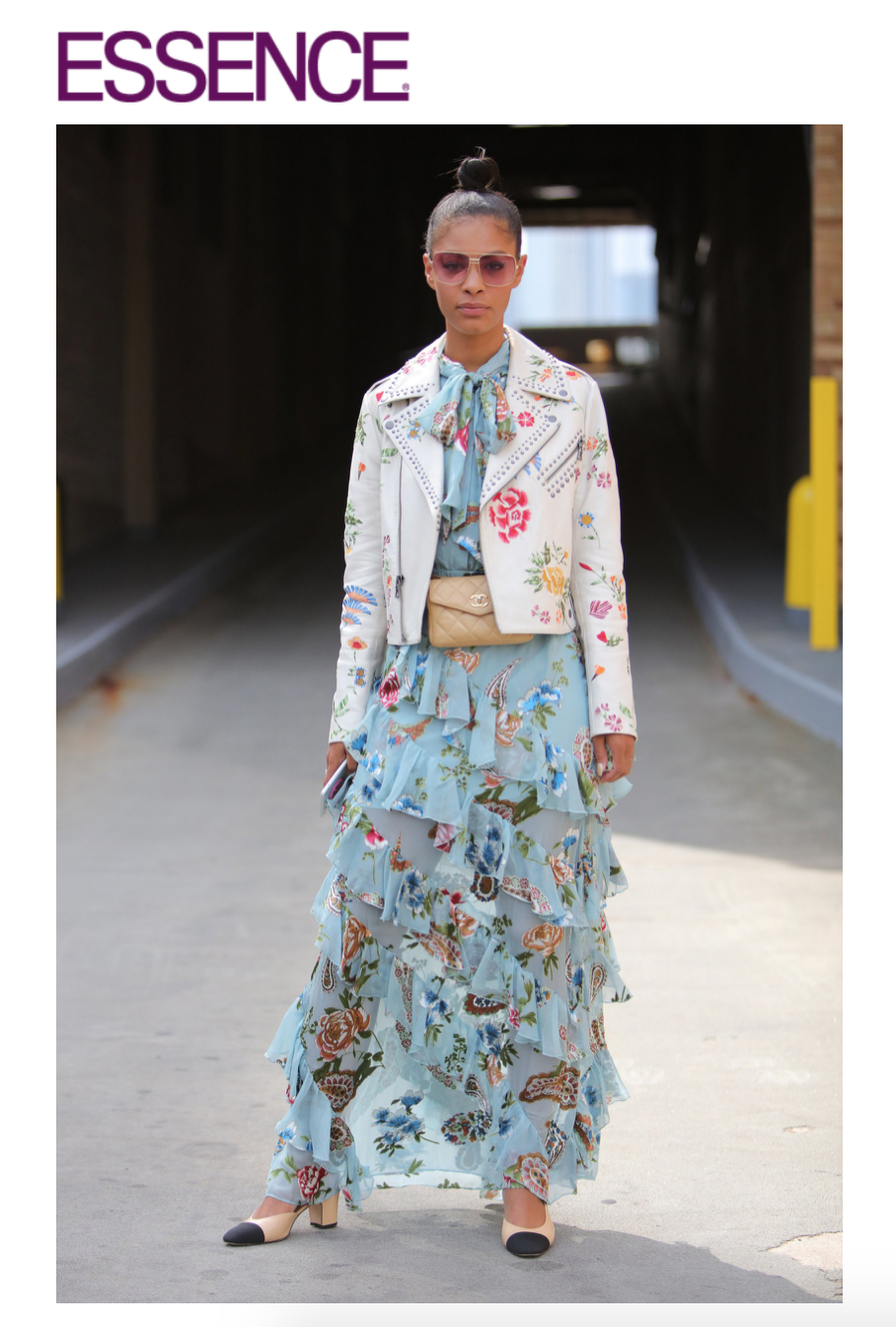 Claire Leana Millar NYFW Street Style SS18