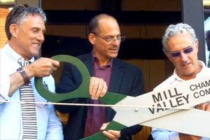 VIDEO |  Guideboat Company Ribbon Cutting in Mill Valley...