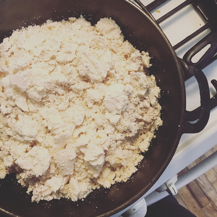 Suet ready to be rendered into tallow