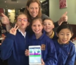 Reading Republic -  Primary School Winners - 2016 Tech Girl Superheroes