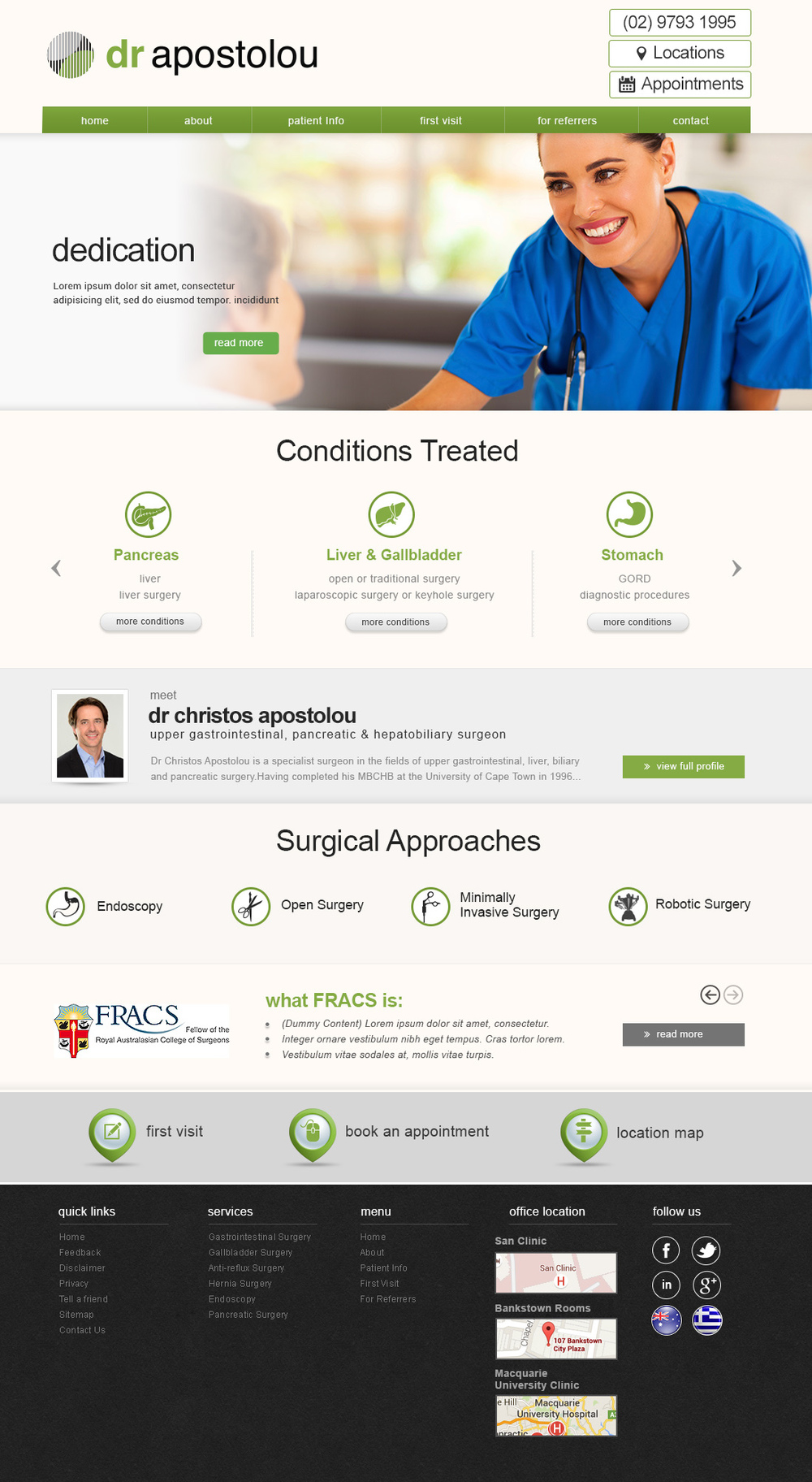Sydney Gastrointestinal & General Surgery Website