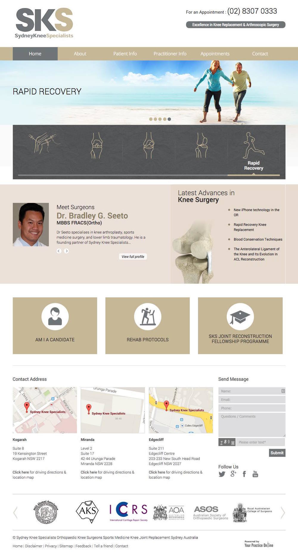 Orthopaedic Knee Surgeons Sydney