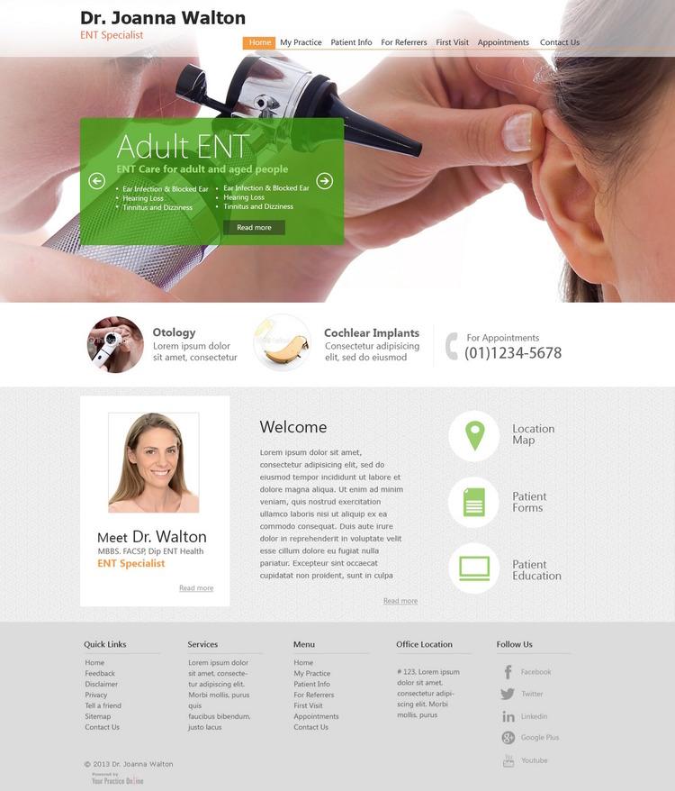 website for doctors