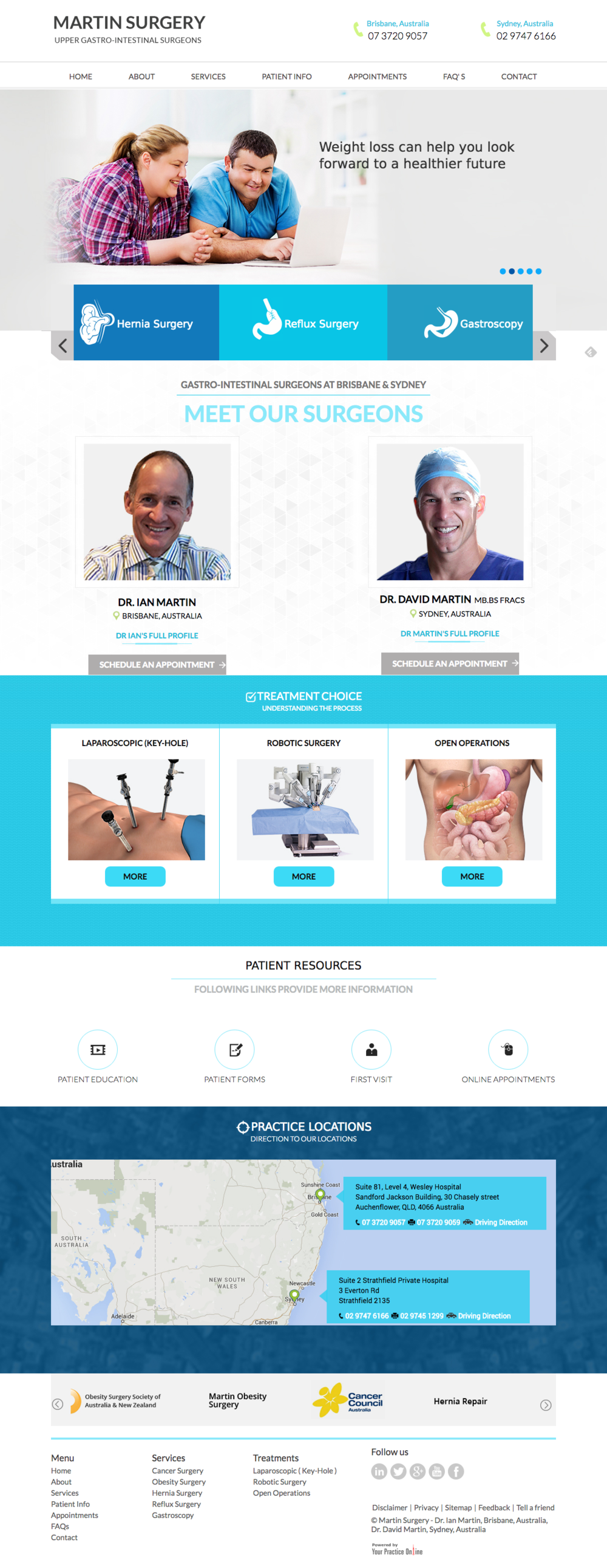 Martin Surgery Brisbane   Upper Gastro Intestinal Surgeons Sydney.png
