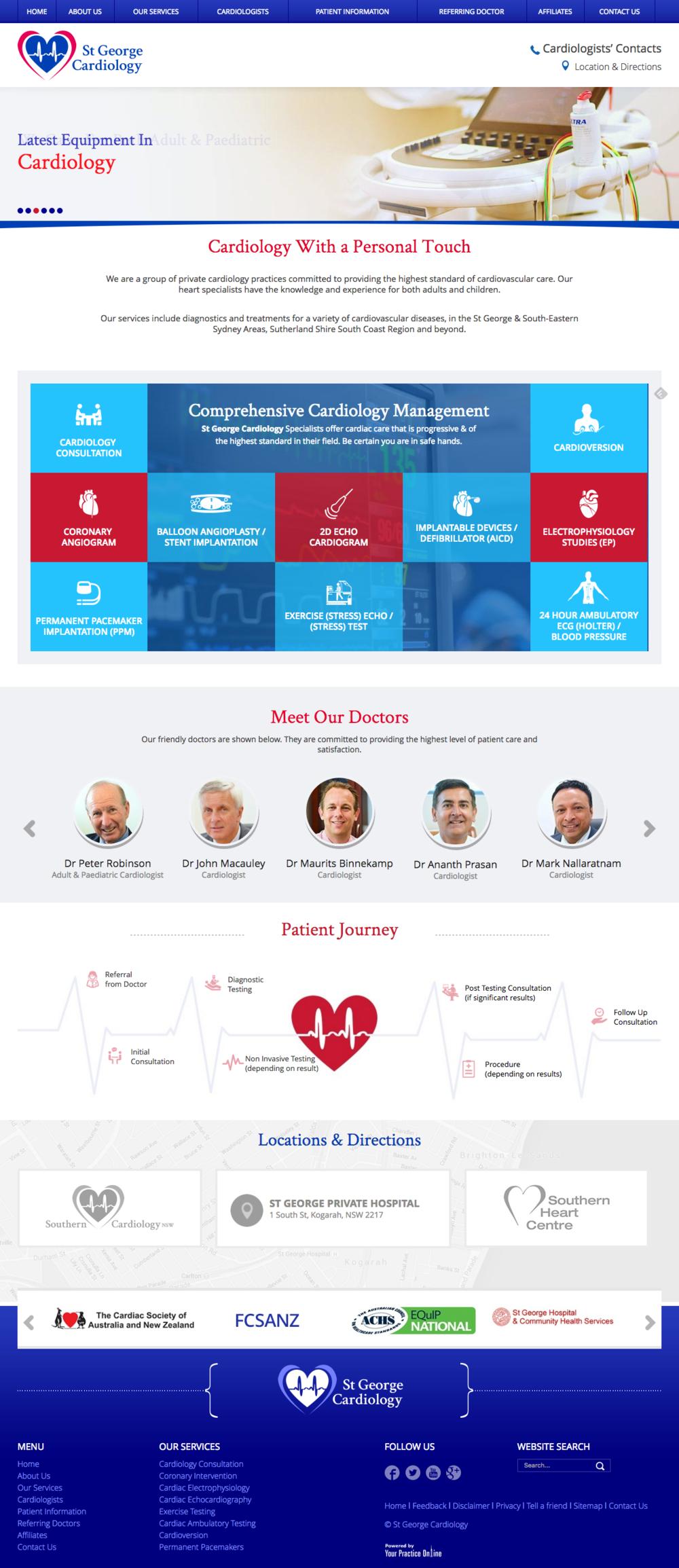 Cardiologist Website Australia