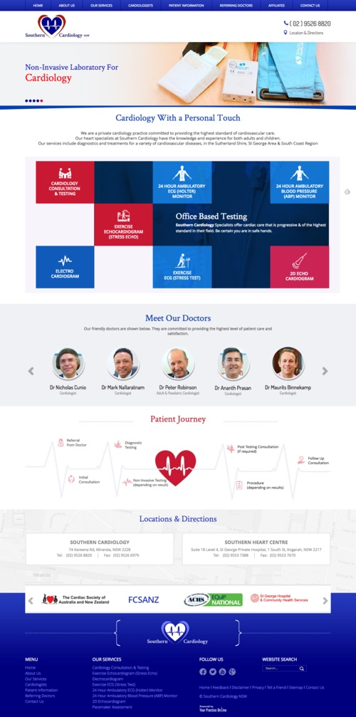 Cardiology Website