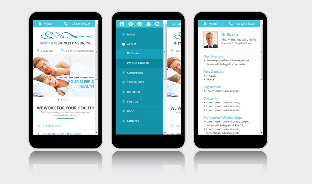 mobile medical websites