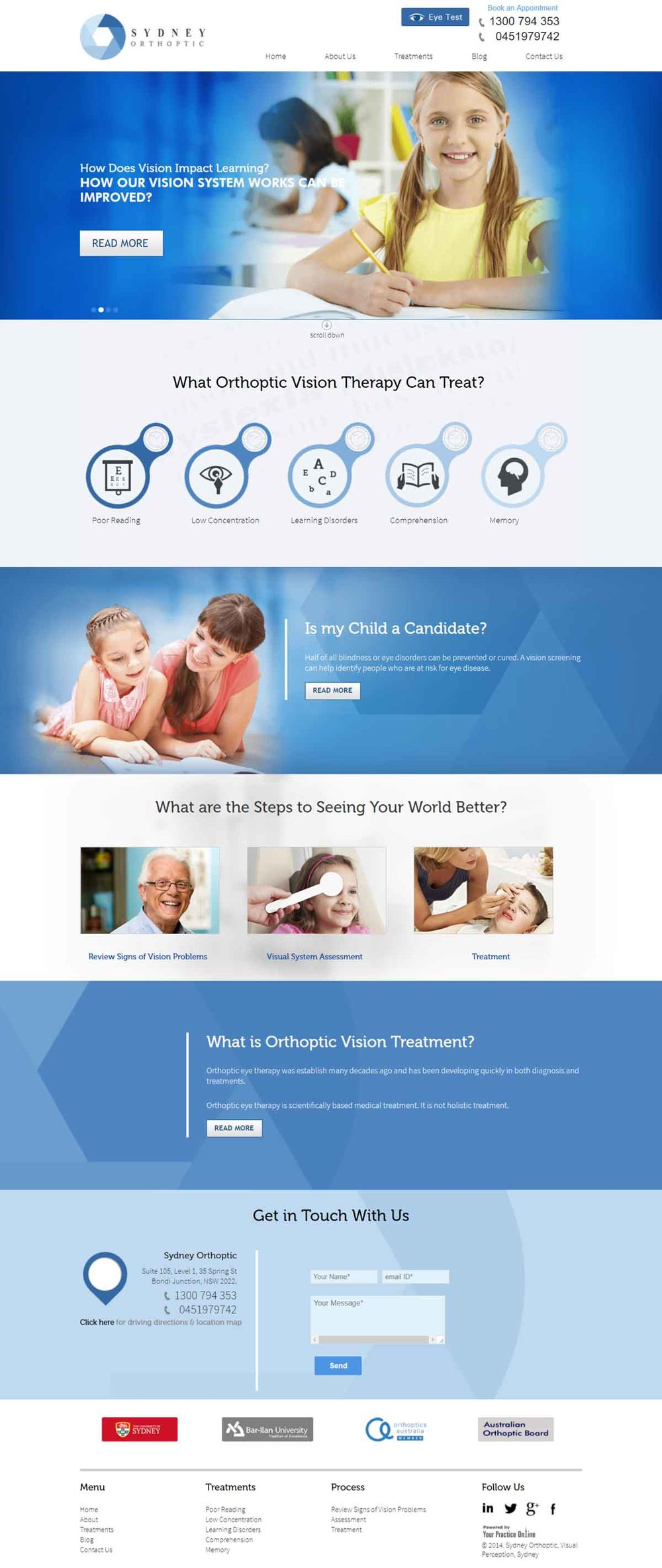 Ophthalmic Surgeon Website Sydney