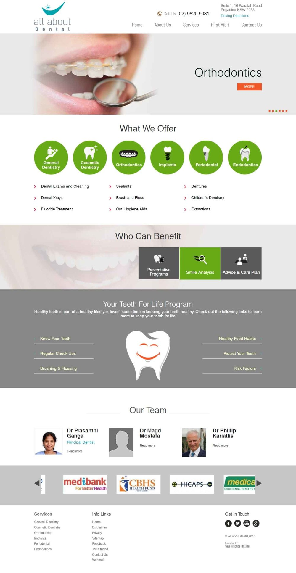 Dental Website Australia