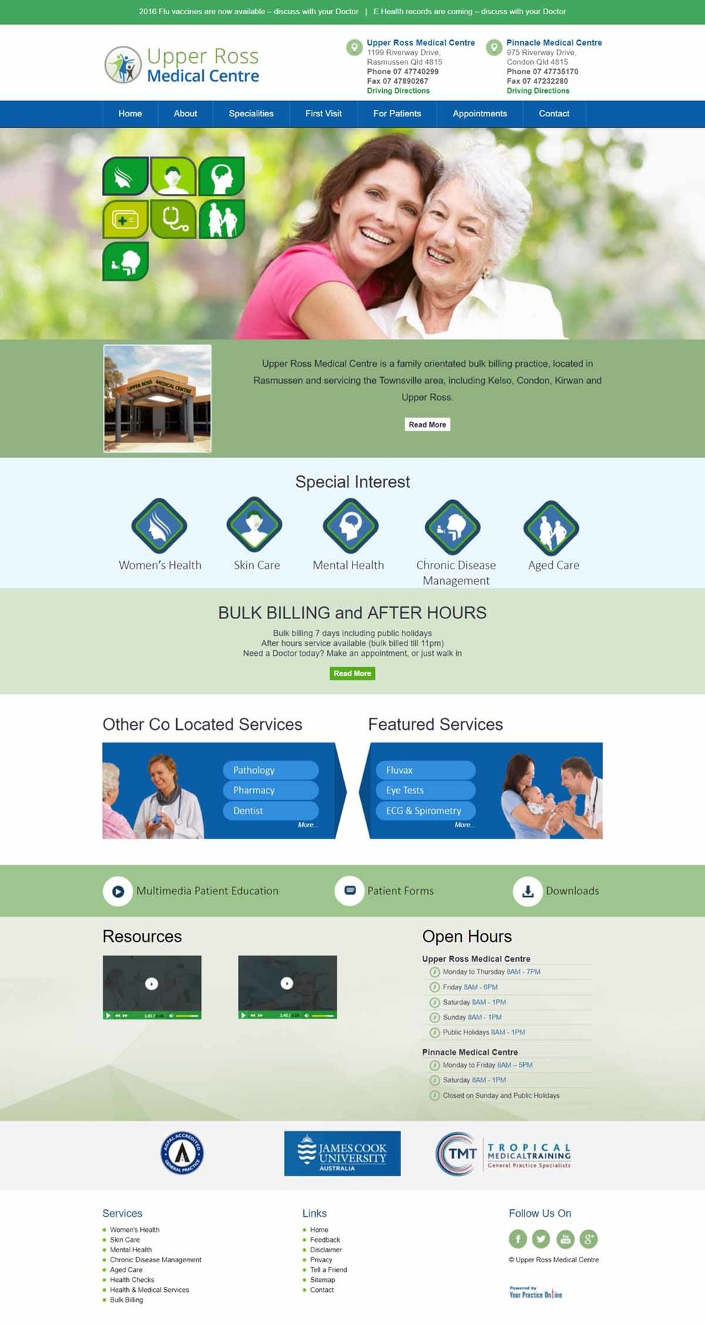 Medical Centre Website Australia