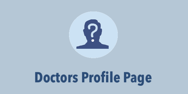 Doctor's Profile Page - (Duration: 38  seconds)