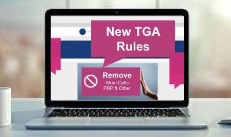 New TGA Rules