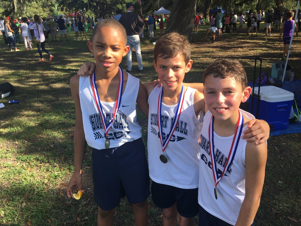Top 10 Overall (4th/5th Grade) - Newman Invitational -