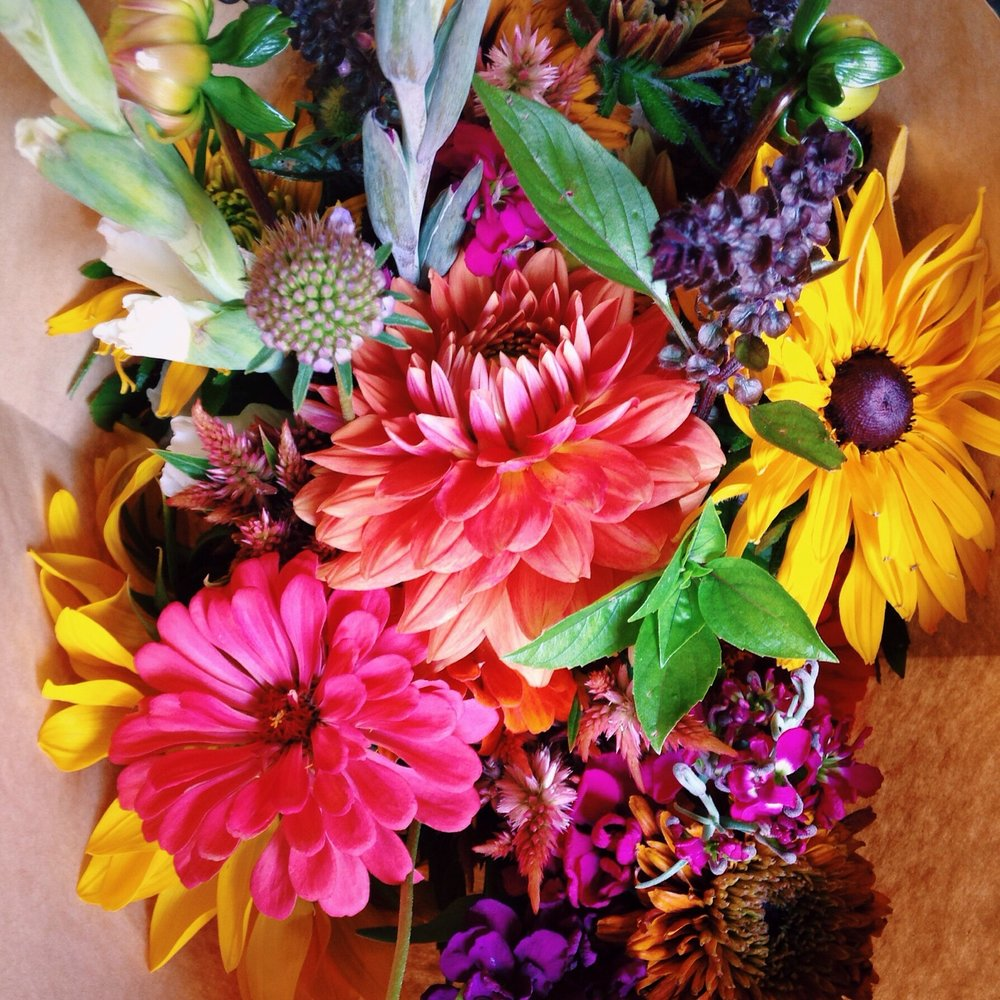 CROWN JEWEL Summer Bouquet CSA 8 weeks — Broadturn Farm