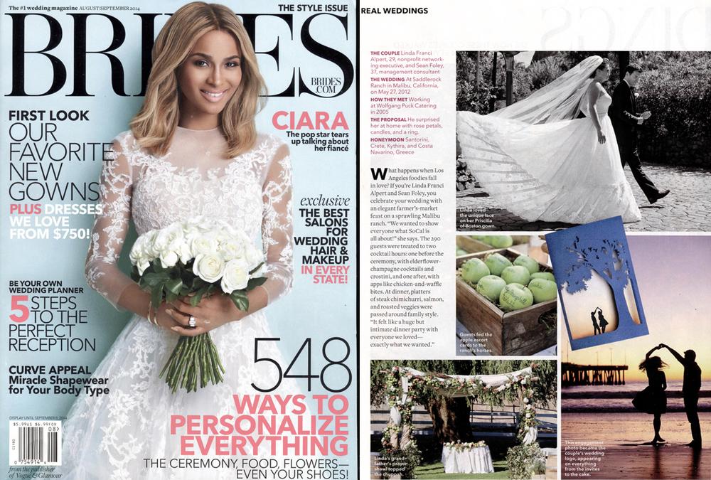 BRIDES Magazine - August 2014