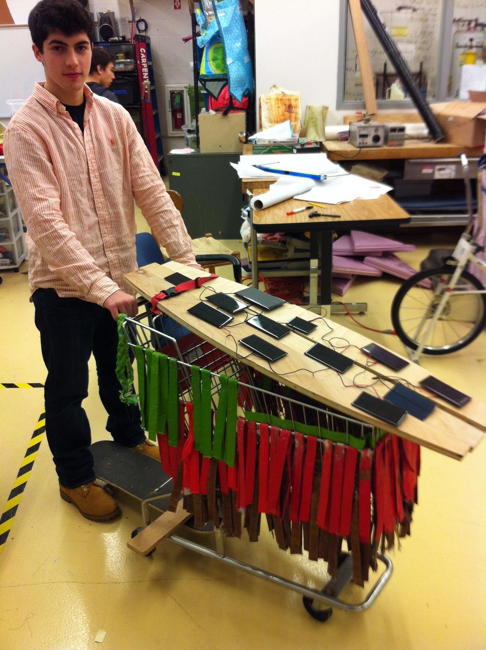 Solar Skate Cart Test Rig