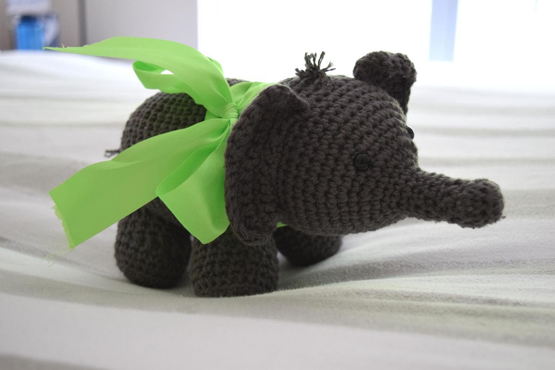 Crochet Elephant Edging Free Crochet Pattern | 1000x1500