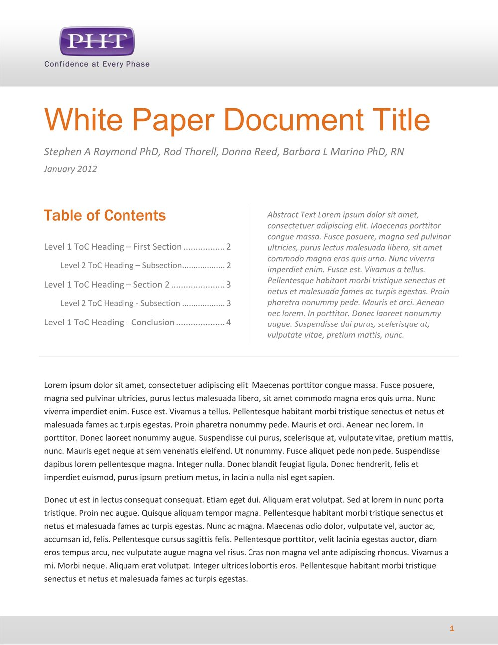 how to write a white paper format Tips for writing technical papers encouraged to read the short and very useful the elements of style by strunk and white column format.